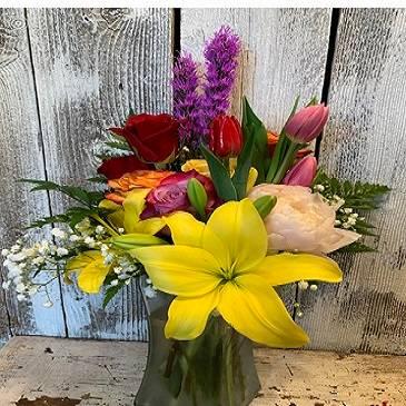 Mother's Day  Vase Arrangement