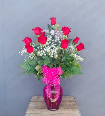 Mother's Dozen Red Roses