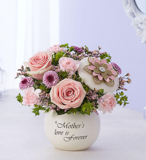 Mother's Forever Love™ Arrangement in Croton On Hudson, NY | Cooke's Little Shoppe Of Flowers