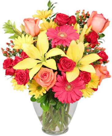Mother's Happiness Vase Arrangement