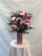 Mother's Heart Vase
