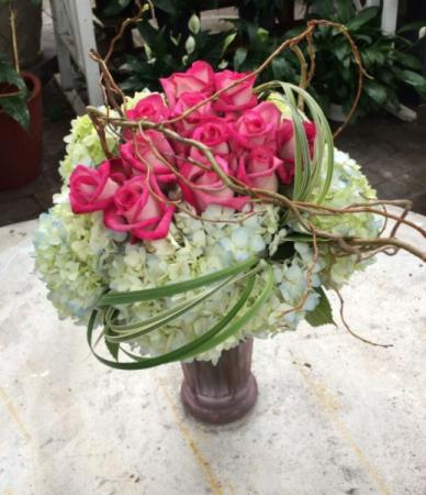 Mothers Kiss Vase Arrangement