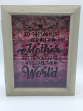 Mother's Shadow Box Mother's Day