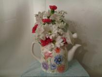 Summer Time Tea Pot Arrangement