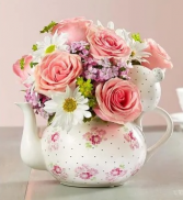 Mother's Teapot Arrangement