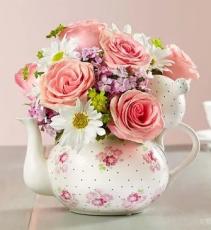 Mother's Teapot Arrangement