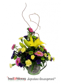 *SOLD OUT* Mother's Watering Can Floral Arrangement