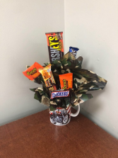 Motorcycle Candy Bouquet