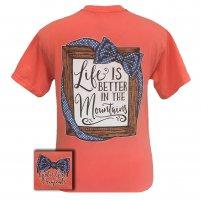 Mountains Girlie Girl T-shirt