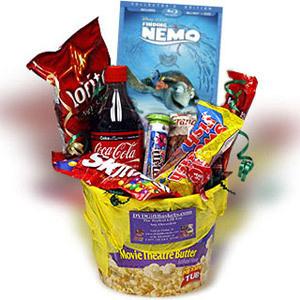 Movie Night Basket Gift Basket in Defiance, OH - FANCY PETALS