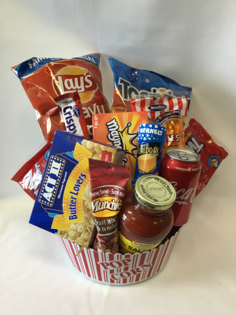 Movie Night Delight Gourmet basket