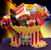 Movie Night Mania Blockbuster Gift Box- SKU 820112 Movie Night Mania Blockbuster Gift Box- SKU 820112