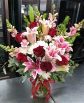 Movie Star Vase Arrangement