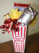 Movie Treats Candy Bouquet Candy Bouquet Gift Basket