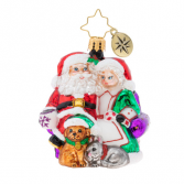Mr. and Mrs. Clause Pause  Christopher Radko Ornament