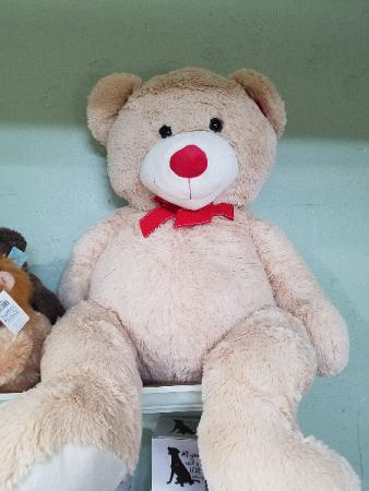 Mr. Bear Large Stuffed Teddy Bear