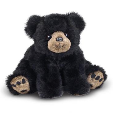 Mr. Rocky Black Bear Plush bear