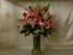Mrs. A's Stargazer Vase arrangement