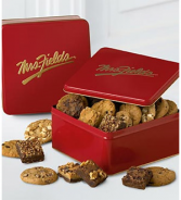 Mrs. Fields®  Classic Tin with Brownie and Cookie  .WGX950-N