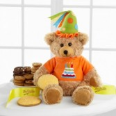 Mrs. Fields® Happy Birthday Bear This is a direct ship item Allow a few days for shipment.