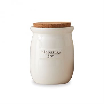 Mud Pie Blessings Jar