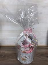 Mug and hot chocolate bomb  Mug with Bird and flower print