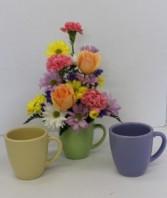 Perk me up Fresh flower arrangement in Troy, Michigan | DELLA'S MAPLE LANE FLORIST