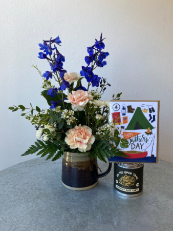 Mug, Candle, Card Combo Father's Day Special
