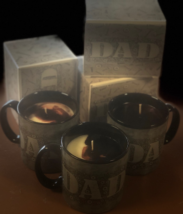 Mug Candles Manly Man Scent