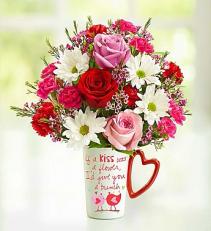 Mug O Luv Valentine Arrangemnt