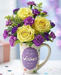 Mugable® Best Wishes '18 Arrangement