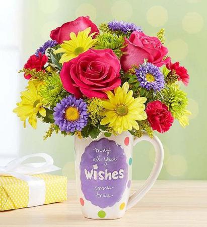Mugable® Best Wishes Arrangement