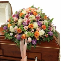 Multi Color Casket Spray