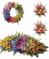 Multi Color Funeral Premium 2 Package
