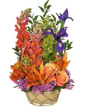 Multi-Color Memories Flower Arrangement in Jamestown, NC | Blossoms Florist & Bakery