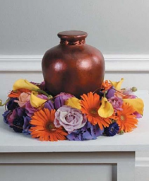 Multi Color Urn Cremation