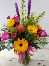 Multi-Colored Magic Mixed Bouquet