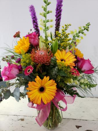 Multi-Colored Magic Mixed Bouquet