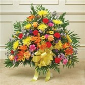 Multicolor Bright Sympathy Basket
