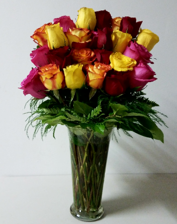 Multicolor Hapiness Flower Arrangement