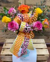 Multicolor roses Best seller