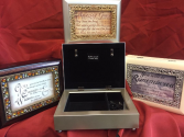 MUSICAL CONDOLENCE JEWELRY BOXES