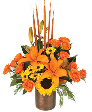 Musical Harvest Fall Florals in Cincinnati, OH | Reading Floral Boutique
