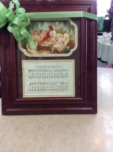 Musical Picture Frame W/Verse Gift Item