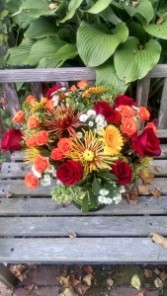 Must be Fall  (Stow Florist original) Created all around)