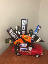 Mustang Candy Bouquet