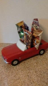 Mustang Special Delivery novelty filled with custom item of your choice