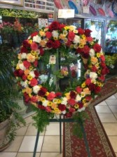 My Beloved  Open Wreath