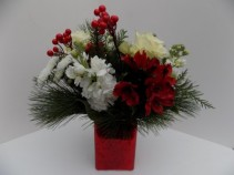 My Christmas Wish vase arrangment