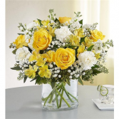 my condolences cylinder vase